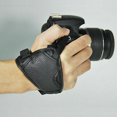 DSLR Cameras Leather Hand Grip Wrist Strap For Nikons Canon Olympus Pentax K4O6