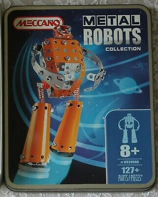 Meccano Metal Robots Collection #892400A ~ Complete