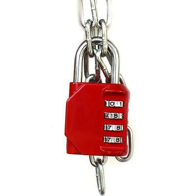 Resettable 4 Digit Password Combination Padlock Security GYM Lo O0Z2 School K6S4