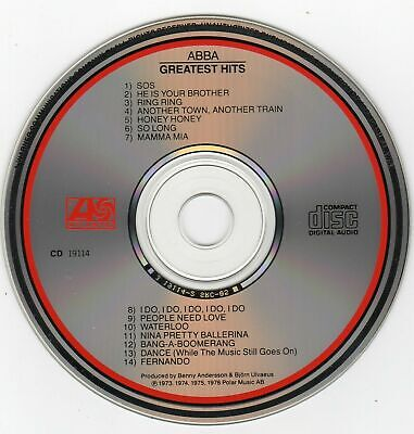ABBA GREATEST HITS VOL. 1 CD - (Never played) Audiophile Recording (Canada)
