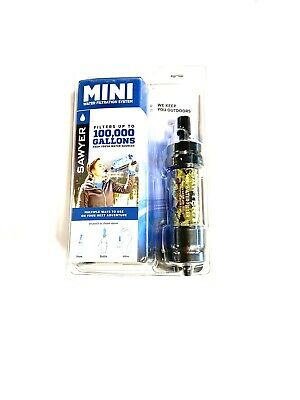Sawyer Products Mini Water Filtration System Multiple Ways To Use Up To 100,000
