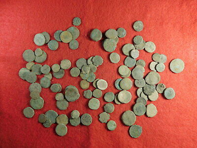 100 Uncleaned Ancient Coins (primarily Roman) (TT14)