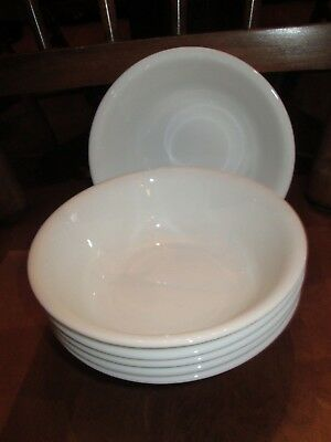 """Corelle 6 1/4"""" WINTER FROST WHITE Cereal Soup Bowls Set of 6"""