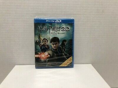 3D Harry Potter and the Deathly Hallows: Part II 2 Blu-Ray BRAND NEW SEALED!!!!!
