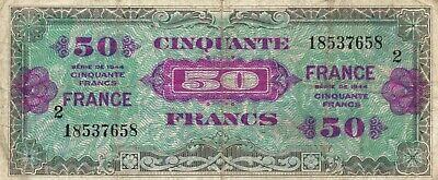 BILLET FRANCE 50 Francs Série 1944 Occasion voir photos - EUR 5,00 ...