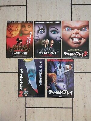 Chucky Posters X 5