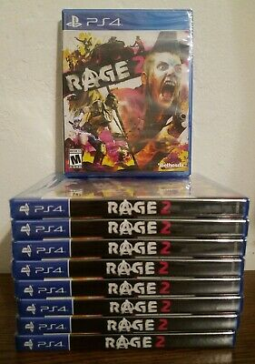 Rage 2 - PS4 Playstation 4 - Brand New, Factory Sealed