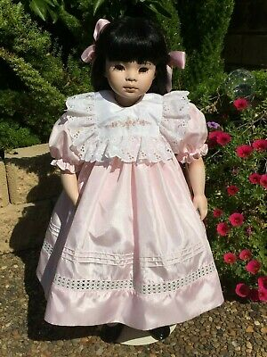 Sabrina by Pauline Bjonness Jacobsen Limited Edition Porcelain doll