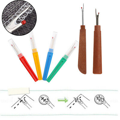 Handle Craft Sewing Tools Stitch Picker Plastic Handle Thread Cutter Unpicker