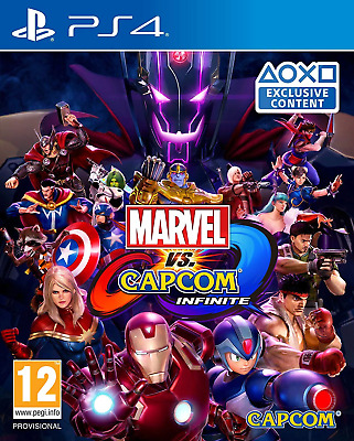 Marvel vs. Capcom: Infinite PS4 (Sony PlayStation 4, 2017) Brand New/Region Free