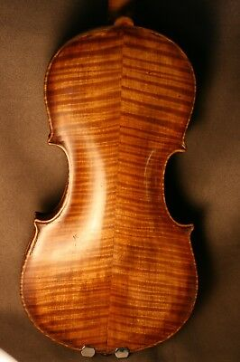 Fine Old Antique American Violin Made By Leon Novack, 1915 - Listen & Watch.