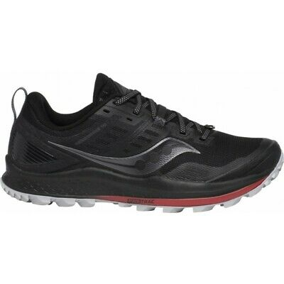 SAUCONY PEREGRINE 8 ICE+ Mens Winter Running Shoes Black