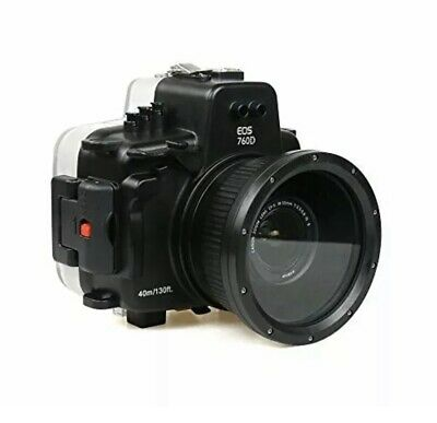 Polaroid SLR Dive Rated Waterproof Underwater Housing Case ForCanon T6S/760D