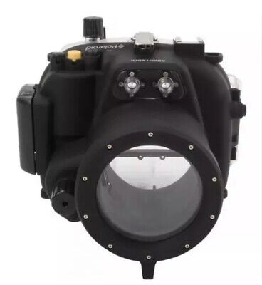 Polaroid SLR Dive Rated Waterproof Underwater Housing Case - Canon T2I/EOS 550D