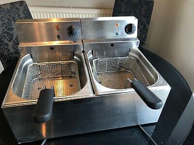 Lincat Double Tabletop Fryer. Excellent Condition