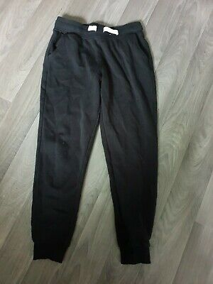 Pair of black girls jogging bottoms hardly worn age 10-11 years George