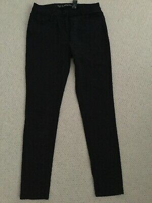 Ladies Soft Touch Black Skinny Jeans From Next Size 14