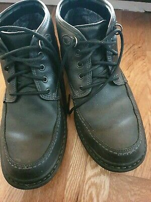 Clarks Gore-Tex  Mens  Black Leather Lace Up Ankle Boots Size Uk 8.