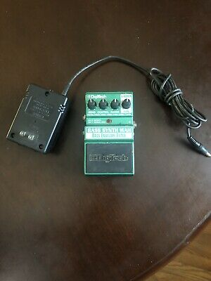 DigiTech Bass Synth Wah Guitar Effect Pedal