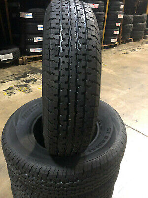 2 NEW ST205//75R15 Mirage Radial Trailer Tires 8 PLY 205 75 15 ST 2057515 R15 ST