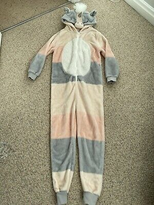 NEXT Girls Unicorn Onesie (not Gerber) All in One  Age 11 Yrs/ 146cm