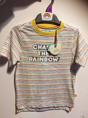 Boys Little Bird Jools Oliver Multistripe Top Age 3-4 Years Bnwt