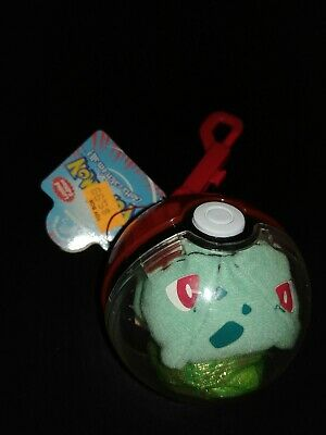 NEW IN BOX POKEMON PLAYABLES #86 SEEL POKEBALL AND KEYCHAIN