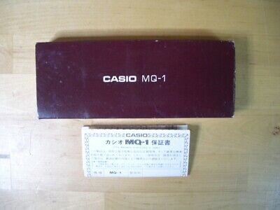CASIO MQ-1 POCKET CALCULATOR - EMPTY BOX -  MQ1 VINTAGE ( Star Wars Boba Fett )