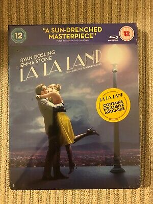 La La Land Limited Edition Blu-ray Steelbook **VERY RARE** Out-Of-Print SOLD OUT