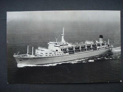 Unused Black & White Post Card S.S Northern Star