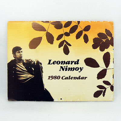 Leonard Nimoy Poetry Poem Calendar 28 Pages RARE