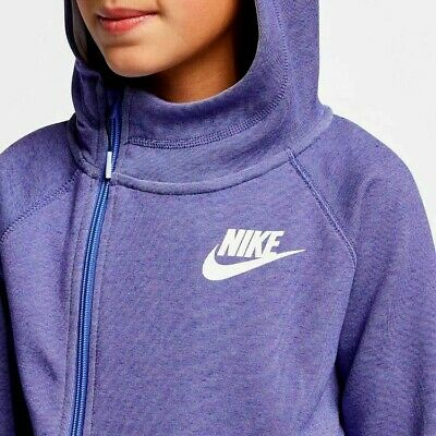 Nike Tech Fleece (Girls') Full-Zip Hoodie Size XL (14-15 y.o.) L (12-13 y.o.)