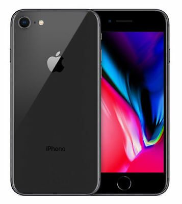 Apple iPhone 8 - 64GB - Space Grey (Unlocked) A1905 (GSM)
