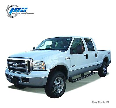 Rugged Style Fender Flares Fits Ford F-250, F-350 Super Duty 99-07 Paintable
