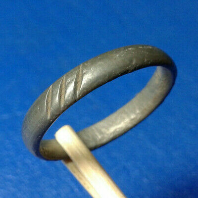 Ancient Medieval Bronze Ring