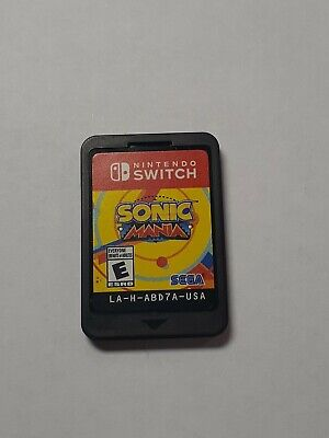 Sonic Mania (Nintendo Switch, 2017) Game only. No case.