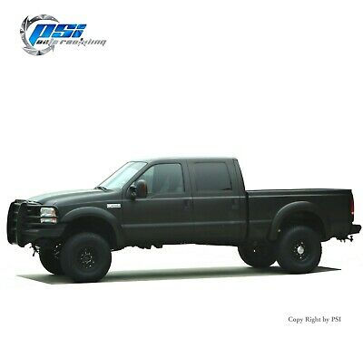 Extension Style Fender Flares Fits Ford F-250, F-350 Super Duty 99-07 Textured
