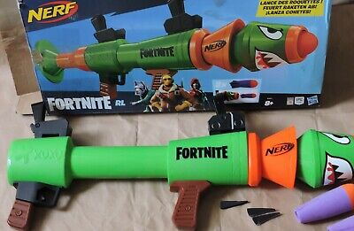 NERF FORTNITE RL Blaster ROCKET LAUNCHER TOYS 2x DART New Missing Tail Parts