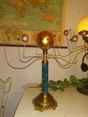 Antiqued Orrery Planetarium by South Carolina artist,Will S. Anderson