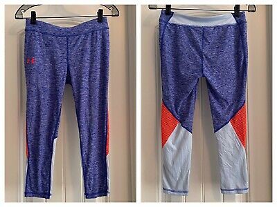 UNDER ARMOUR Youth Large FINALE CAPRI Workout Casual Leggings 14-16 CHECK SIZE