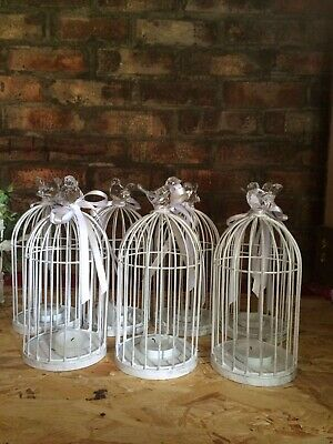 8x Wedding Bird Cages 30 cm tall approximately