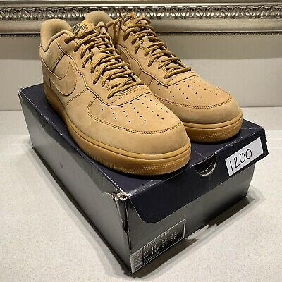 NIKE AIR FORCE 1 '07 WB Low | FLAXFLAX GUM LIGHT BROWN | UK