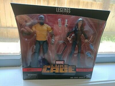 Marvel Legends Luke Cage Claire Temple 6 inch sealed New