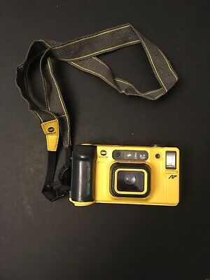 Minolta Vectis Weathermatic Dual 35mm Point & Shoot Film Camera With Strap