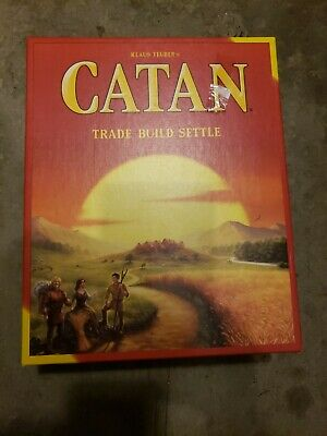 Catan Board Game 5th Edition: Trade Build Settle Opened 100% Complete 2016