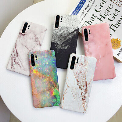 For Samsung Galaxy Note 10 Plus S10 S10E S9 S8 Marble Gold Crack Hard Case Cover