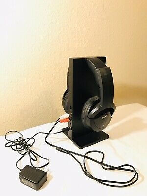 Sony MDR-RF985R Wireless Stereo Headphones and Transmitter TMR-RF985R Working