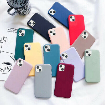Candy Silicone Pure Soft Case Cover For iPhone 11 Pro Max XR XS X 7 8 6S Plus 6