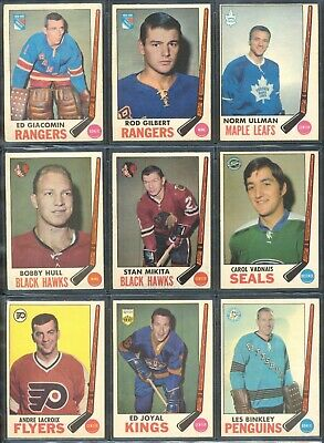 (8) 1969-70 OPC Vintage Hockey Card Singles: You Pick, Choose From (8) P2+BONUS!