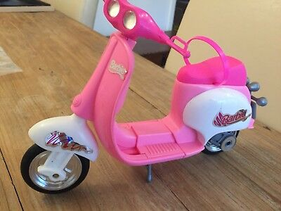 Toy Barbie Pink Scooter